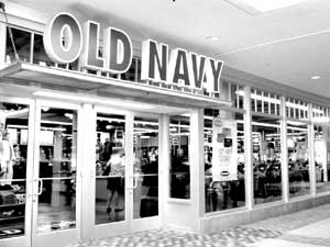 An Old Navy Store